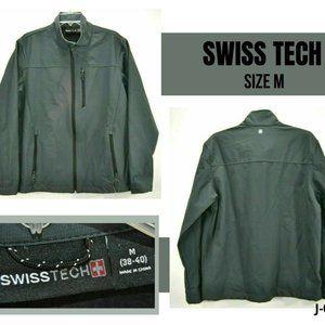 Swiss Tech Men Jacket M Lined Long Sleeve Full Zip